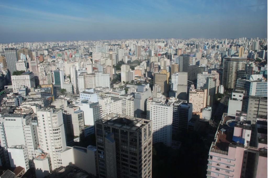 מבט מלמעלה על העיר סאן פאולו, צילום: לורנס וייל/Lawrence Vale