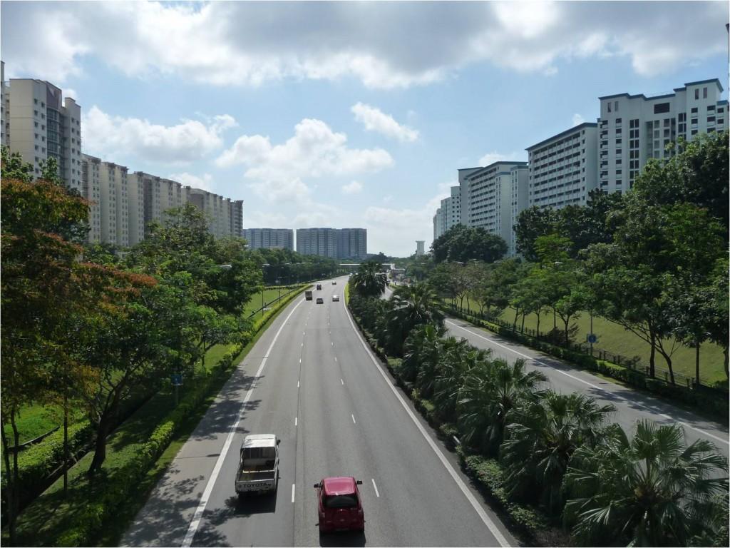 כביש מהיר בסינגפור, התמונה באדיבות ברנט ריאן