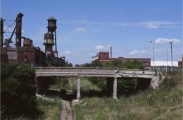 מבני תעשייה נטושים בדטרויט