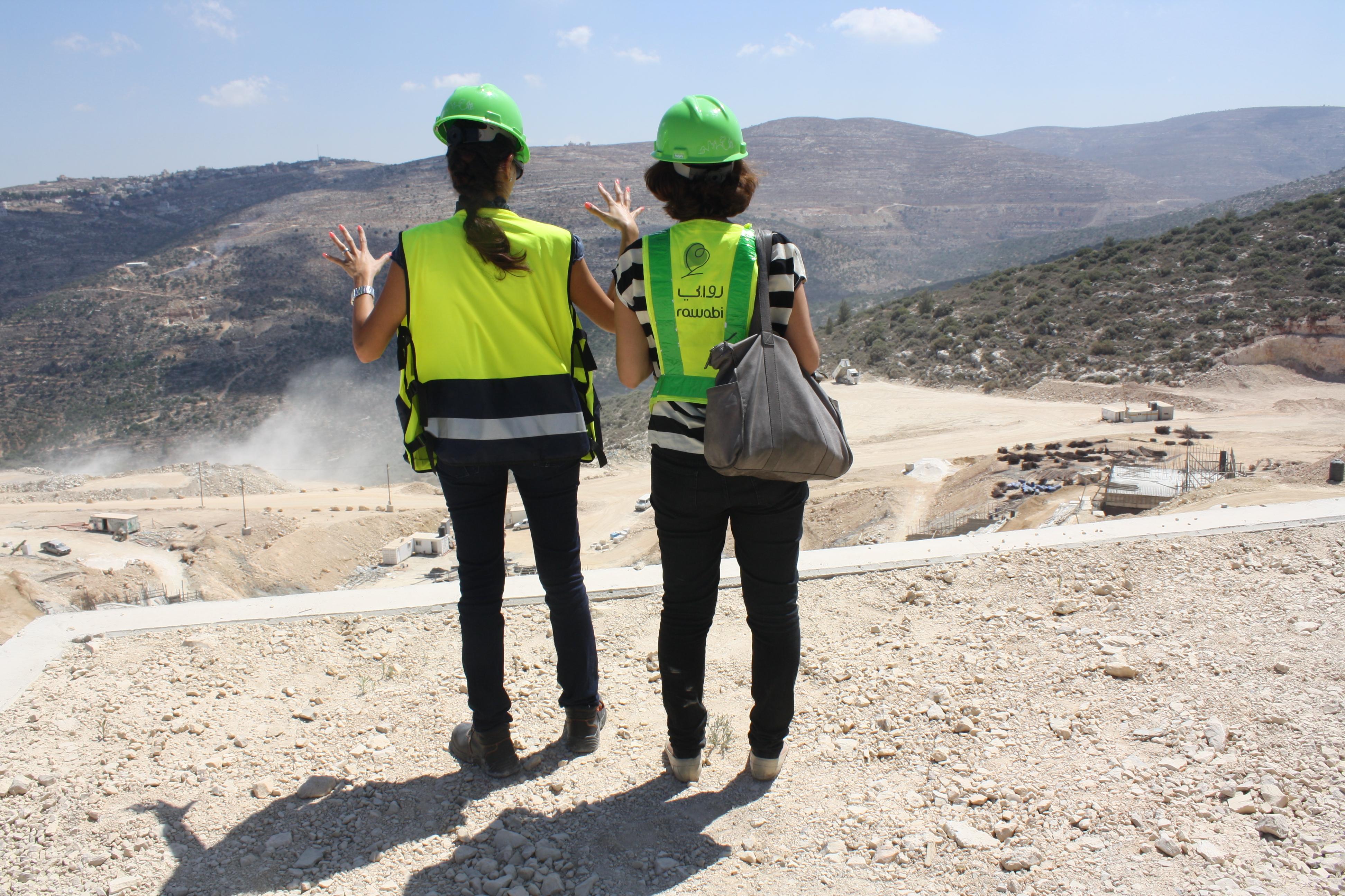 מרכז העיר יתוכנן ברוח דומה לפרויקט ממילא שבירושלים. העיר רוואבי. צילום: מיכאל יעקובסון
