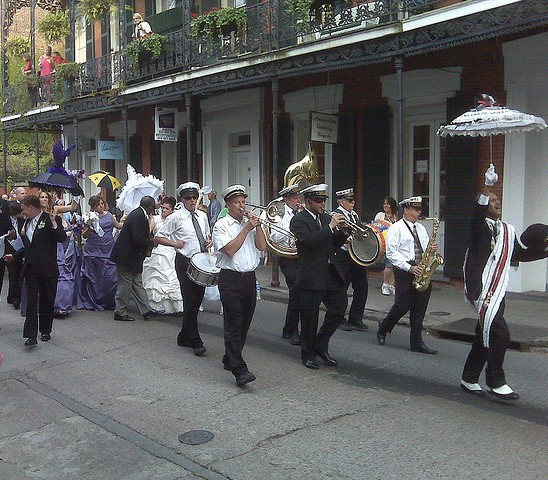 Wedding Parade in New Orleans-Dale Basler, flickr