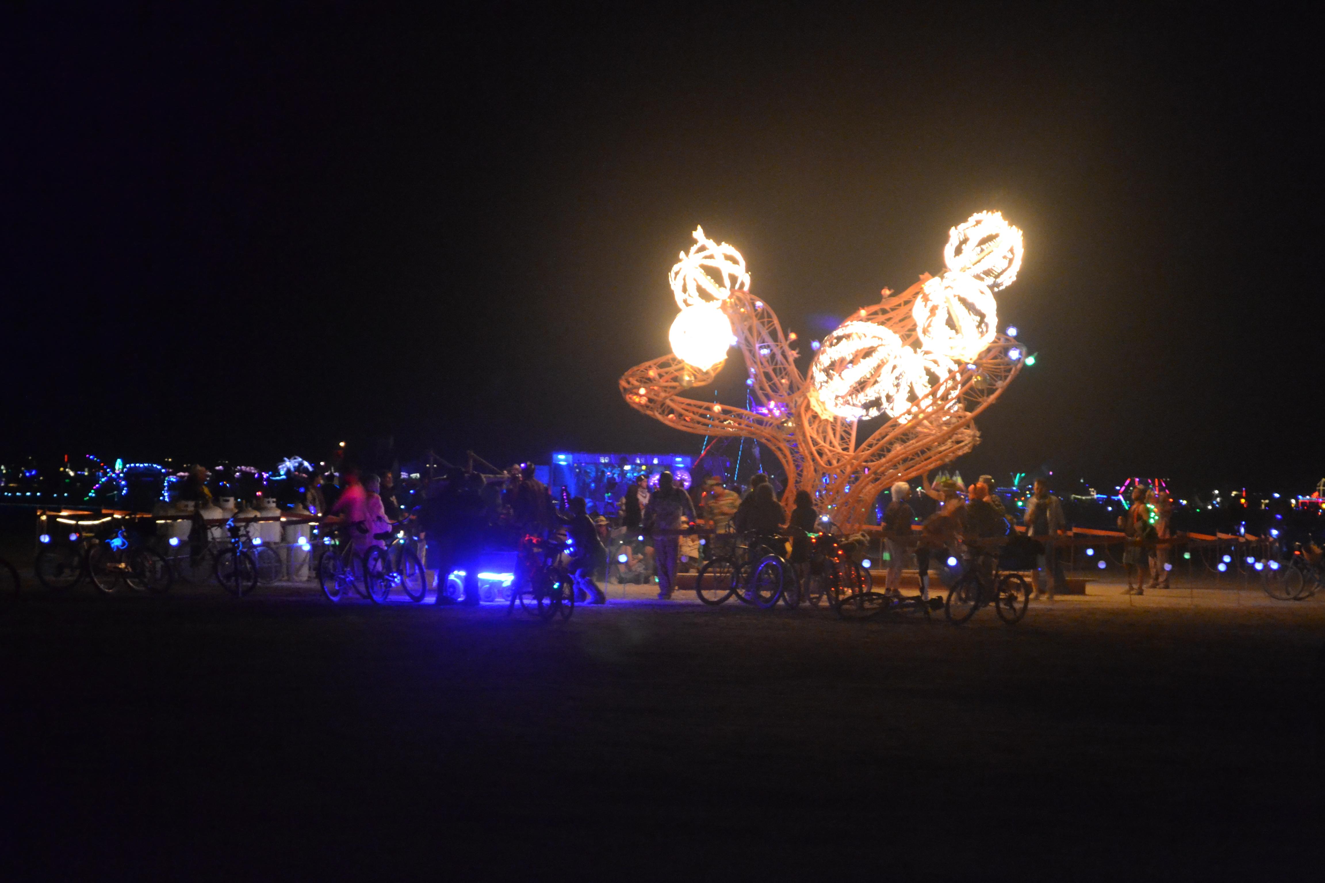 פסטיבל ברנינג מן, נבדה. צילום: אביב דגני