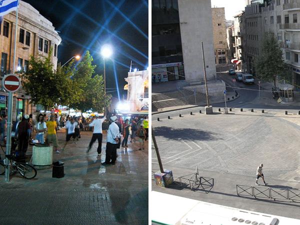 Jerusalem squares