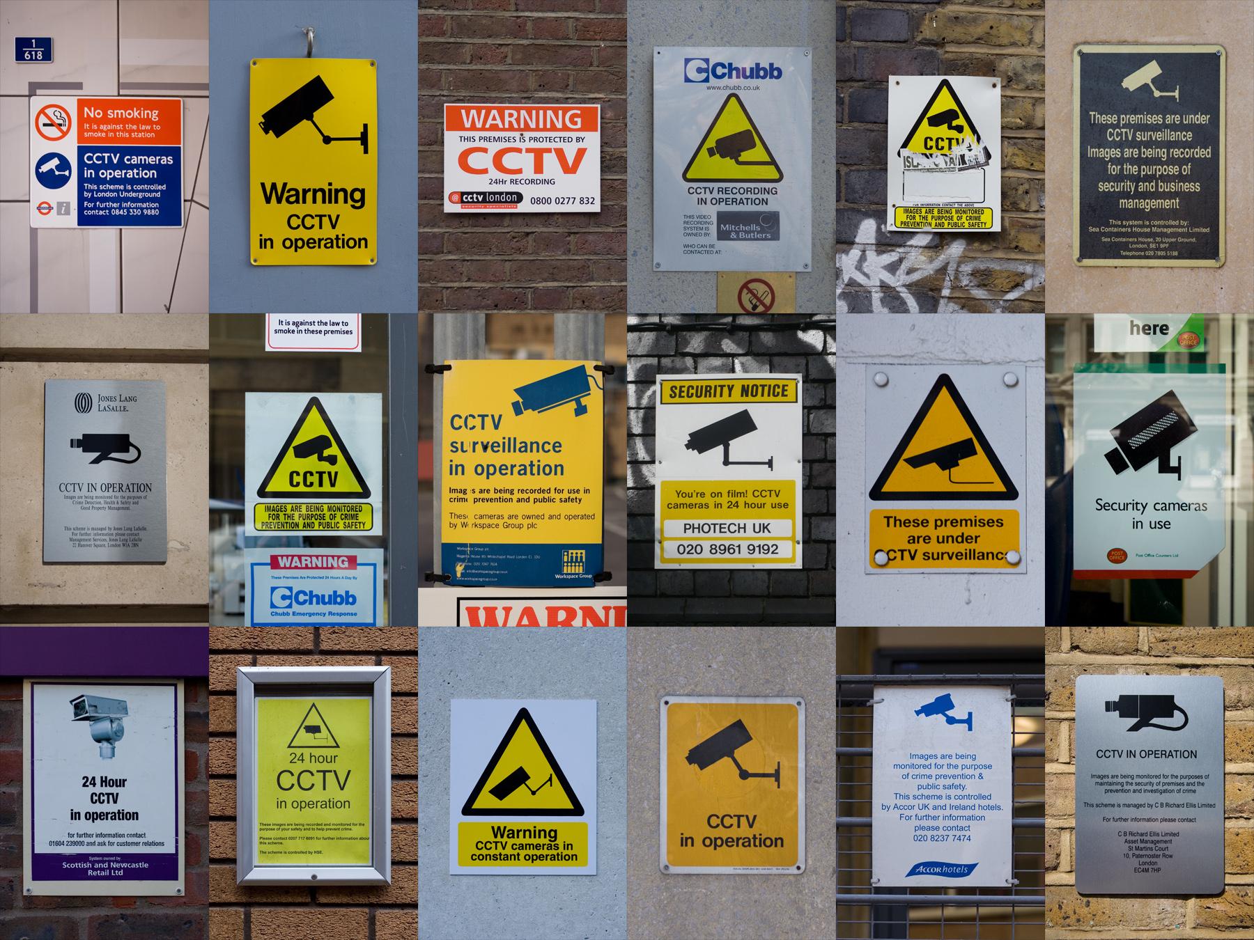 """""""קדחת המצלמות"""" לא נועדה לפתור בעיות אמיתיות, זו feel good policy. מצלמות אבטחה פרוסות ברחבי הערים (מקור: Roland Peschetz אתר flickr)"""
