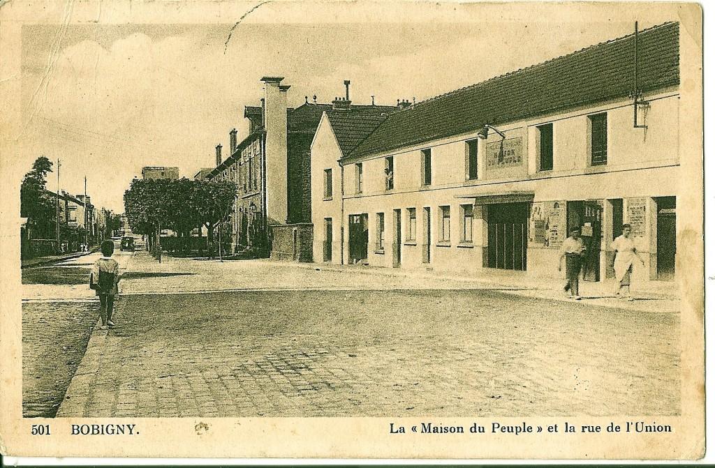 BOBIGNY_-_La_Maison_du_Peuple_et_la_Rue_de_l'Union