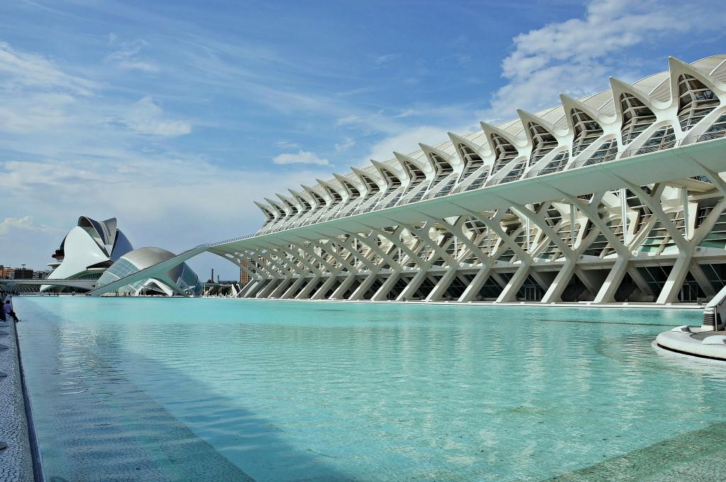 מוזיאון ולנסיה, ספרד, בתכנון  (צילום: Alberto-g-rovi אתר wikipedia)