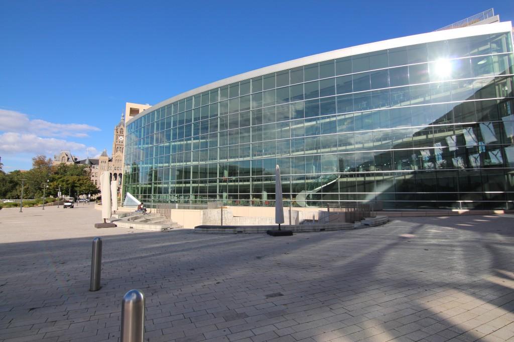 הספרייה הציבורית של סולט לייק סיטי (צילום: עידן עמית)