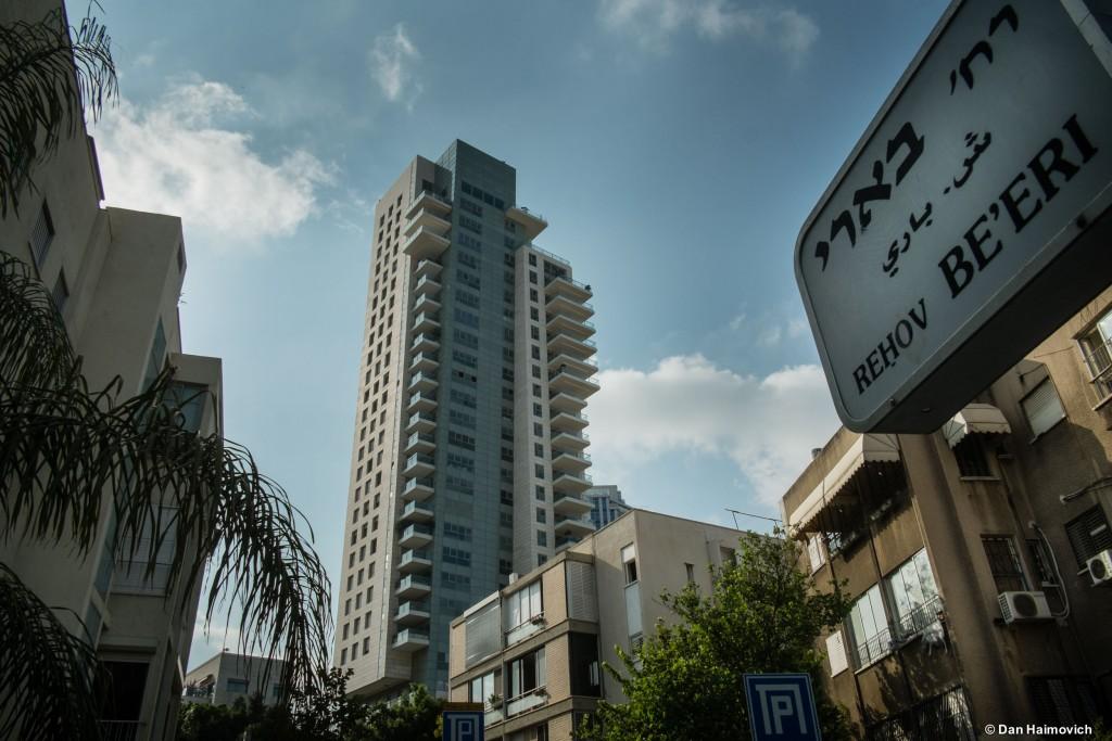 פרויקט המגורים היוקרתי ברחוב בארי, תל אביב (צילום: דן חיימוביץ')