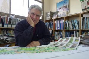 אדריכל הנוף חיים כהנוביץ (צילום: מיכאל יעקובסון)
