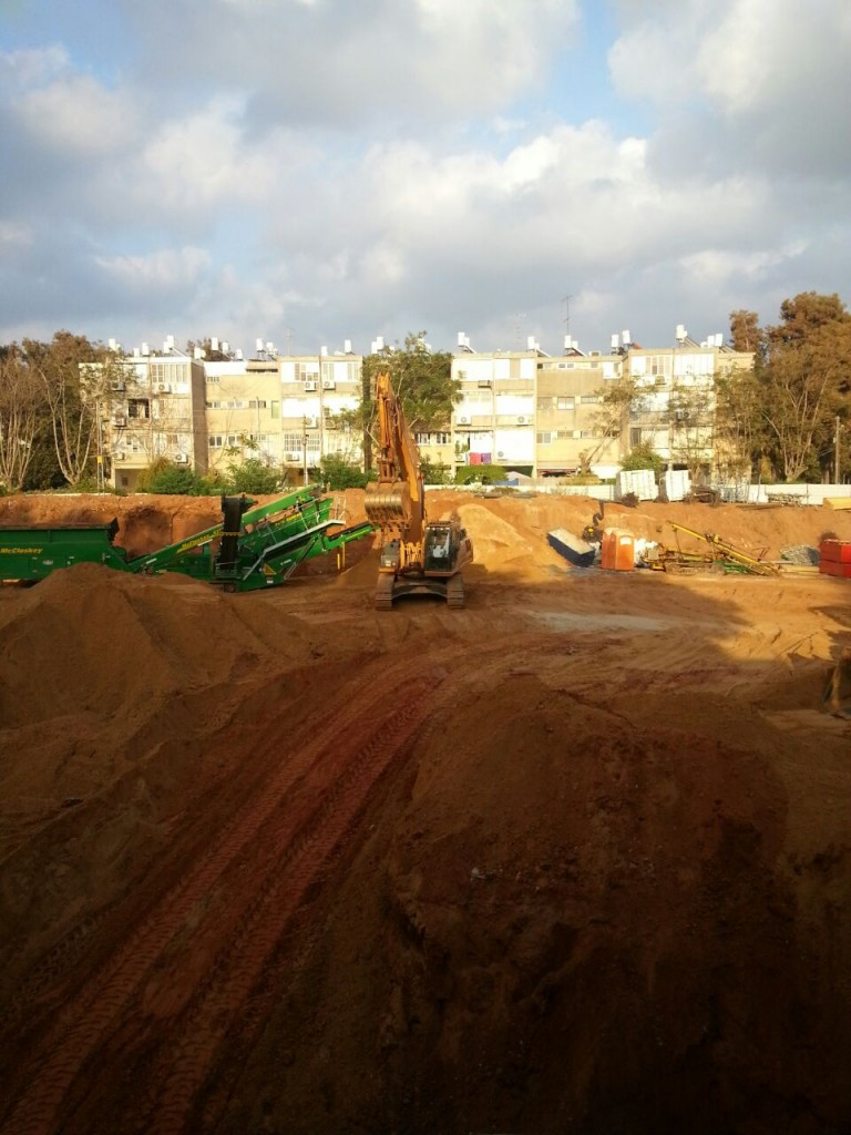 התחדשות עירונית בשכונת נווה שרת בתל אביב (צילום: תהל בן יהודה וקסלר)