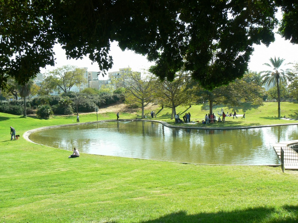 פארק וולפסון בתל אביב, בתכנון צבי דקל (צילום: wikipedia)