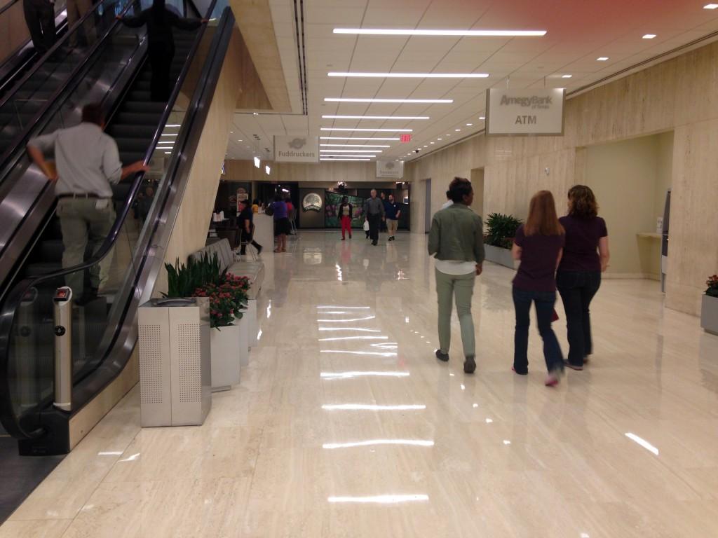 המנהרות ממוקמות בעומק של שישה מטרים מתחת לפני הקרקע. יוסטון, טקסס (צילום: המעבדה לעיצוב עירוני)