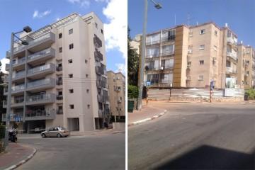 """תמ""""א 38, לפני ואחרי (צילום אילוסטרציה: Bareket38, מתפרסם לפי רישיון CC BY-SA 4.0 דרך ויקישיתוף)"""