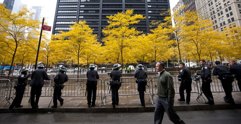 מהו תפקידו של המרחב הציבורי בעיר בעיצוב פעולת המחאה? פארק זוגוטי, ניו יורק 2011 (צילום: Dan Nguyen, flickr)