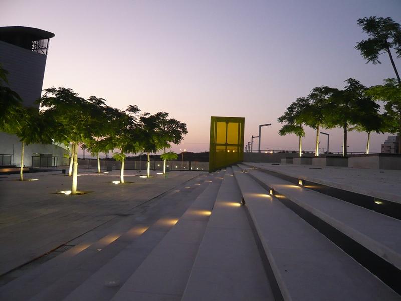 כיכר התרבות באשדוד (צילום: תמא- תכנון מרחב אורבני)