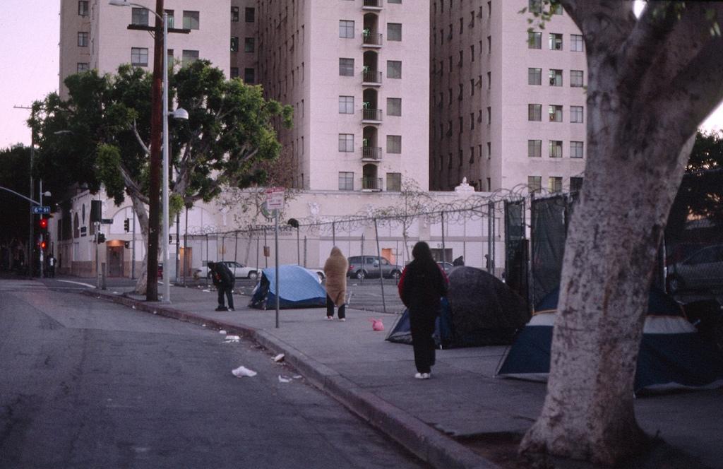 כיצד תמהיל חברתי עשוי לתרום לאוכלוסיות מוחלשות? שכונה מעורבת בלוס אנג'לס, קליפורניה, ארצות הברית (צילום: Gilbert Mercier, אתר flickr, תמונה ברישיון CC BY-NC-ND 2.0)