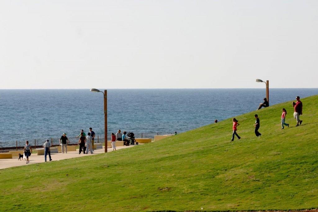 """לרשויות """"יש רצון עז לייצר פארקים משמעותיים שישרתו את כל התושבים, לא רק גינות קטנות"""", פארק הכט בחיפה (צילום: גרינשטיין הר גיל)"""