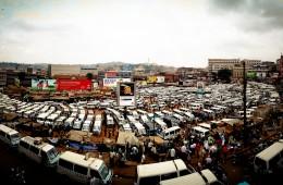 Fliker downtoun Kampala by Barak Fakhamzadeh