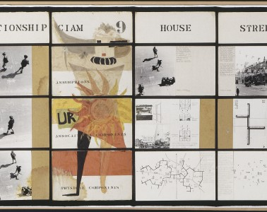 Grid for the C.I.A.M. d'Aix en Provence, 1952-1953. Collage, photographs, ink on paper, 0.550 m x 2.600 m. Photo: Georges Meguerditchian.  Image licenced to Roy Kozlovsky KOZLOVSKY, ROY by Roy Kozlovsky Usage :  - 3000 X 3000 pixels (Letter Size, A4)  © Réunion des Musées Nationaux / Art Resource