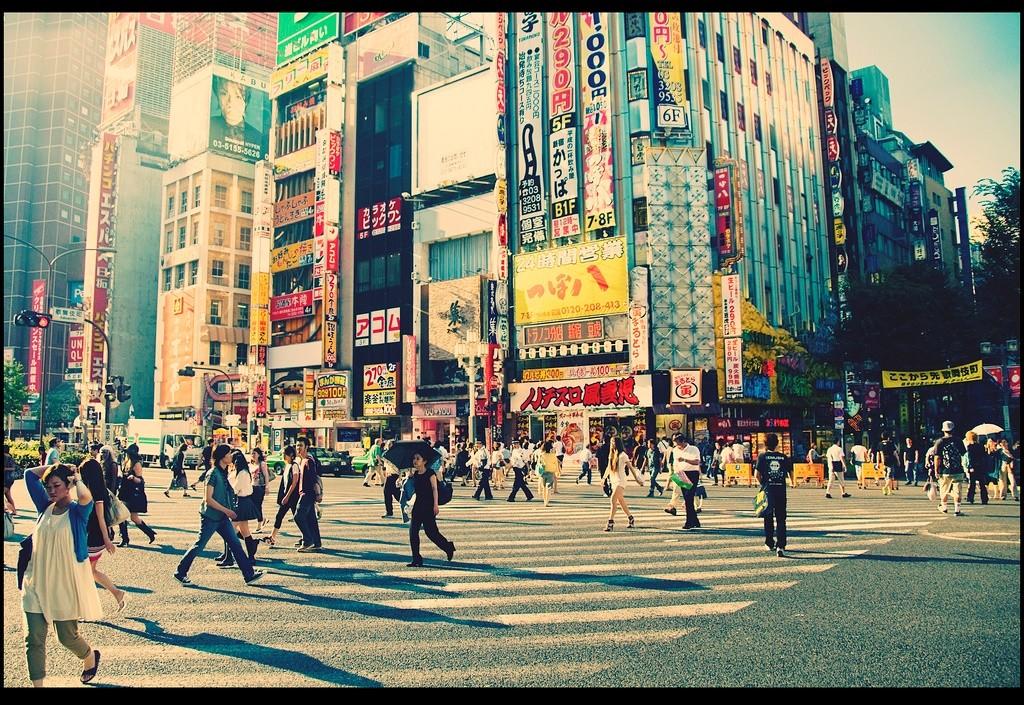 הערים הגלובליות עסוקות בניסיון למשוך עסקים לעיר, ניתן לראות בכך מדיניות חוץ, אבל הן לא עוסקות בביטחון, זה עדיין בחזקתה של המדינה, Tokyo (צילום: Flicker.com Vincent van der Pas)