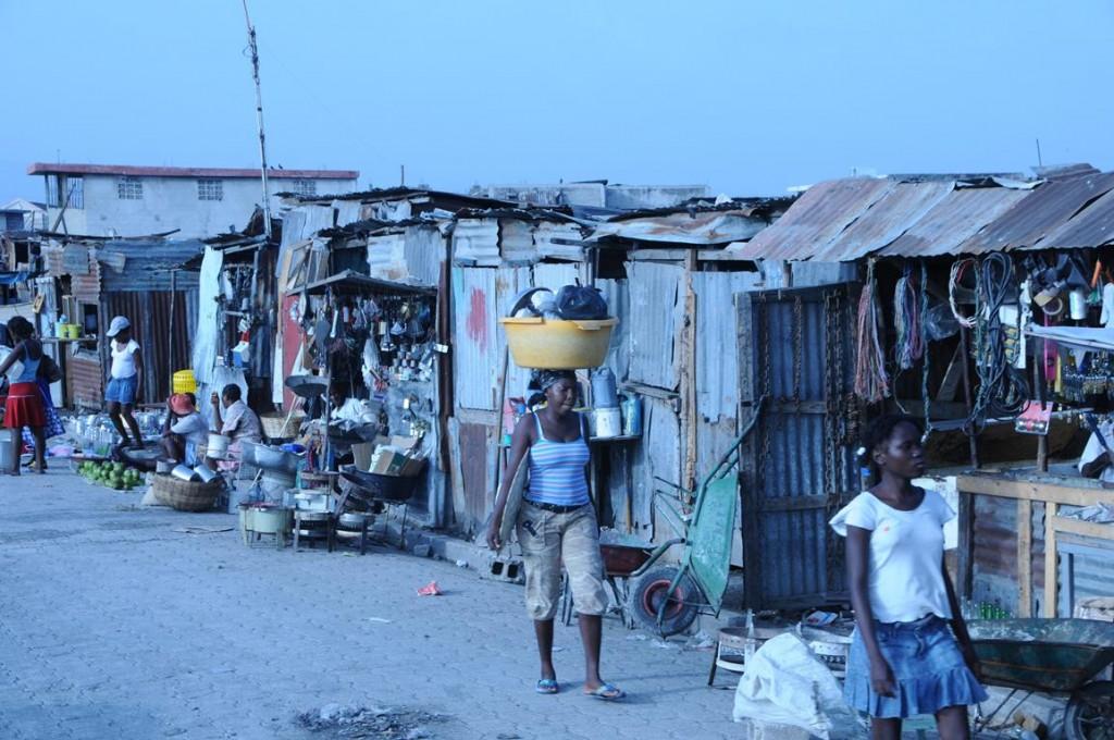 BBC World Service Port au Prince's largest slum