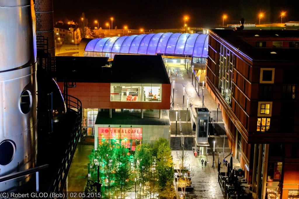 אולם אירועים ומופעי מוזיקה שהוקם ברובע העירוני החדש Belval Rockhal (צילום:Robert GLOD , Flickr.com)