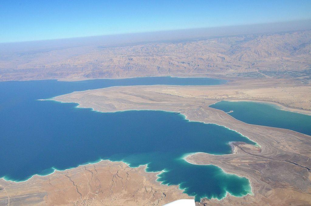 ים המלח לצד אילת הם שני אזורים מניבים הכנסות מתיירות בנגב (צילום: Wikimedia)