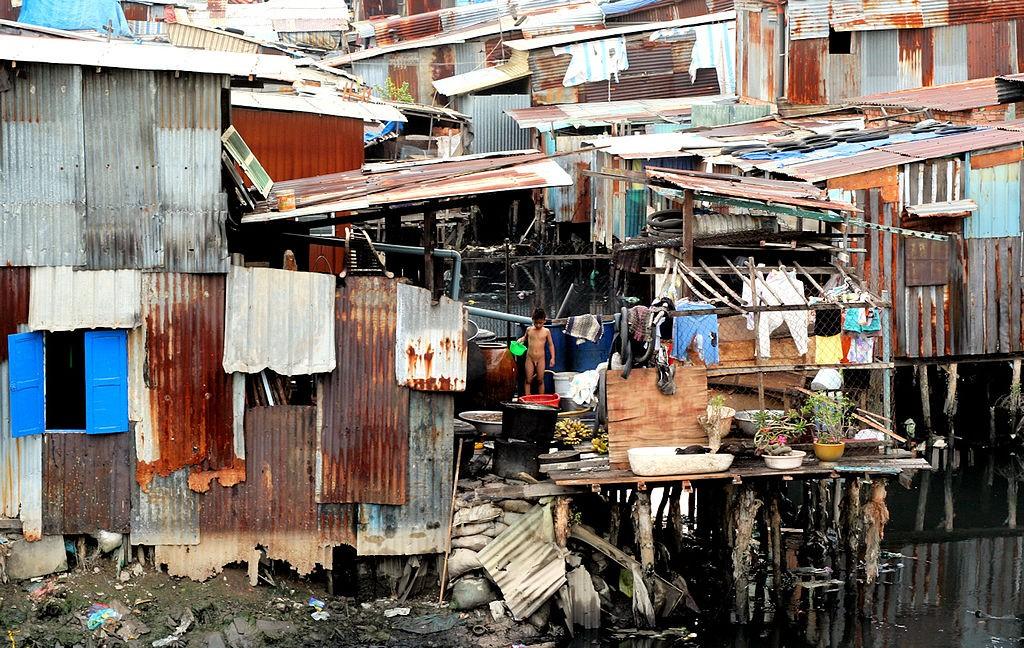 סלאמס בהוצ'י מין סיטי בויאטנם, (צילום: Nguyen Thanh Long, Wikimedia)