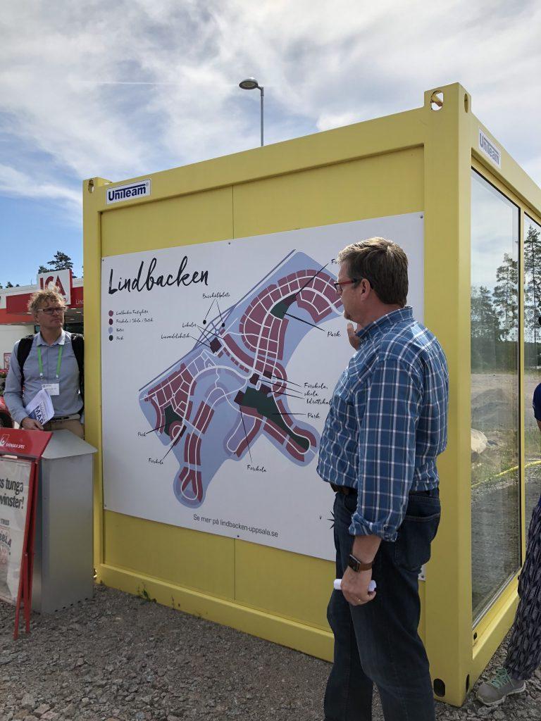 מדי שנה נבנים בה כ- 3000 יחידות דיור, השאלה כיצד להציע דיור בר השגה מעסיקה את הרשויות, אופסולה, שוודיה (צילום: טלי חתוקה)