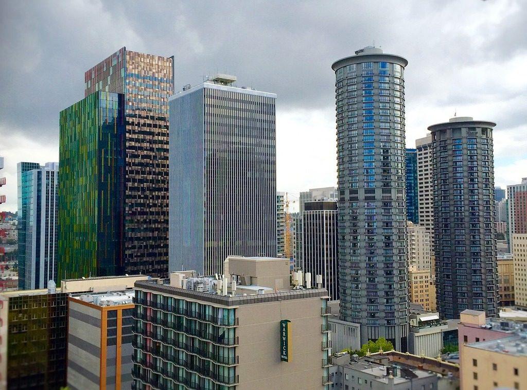 קמפוס אמזון בסיאטל (צילום: pixaby)