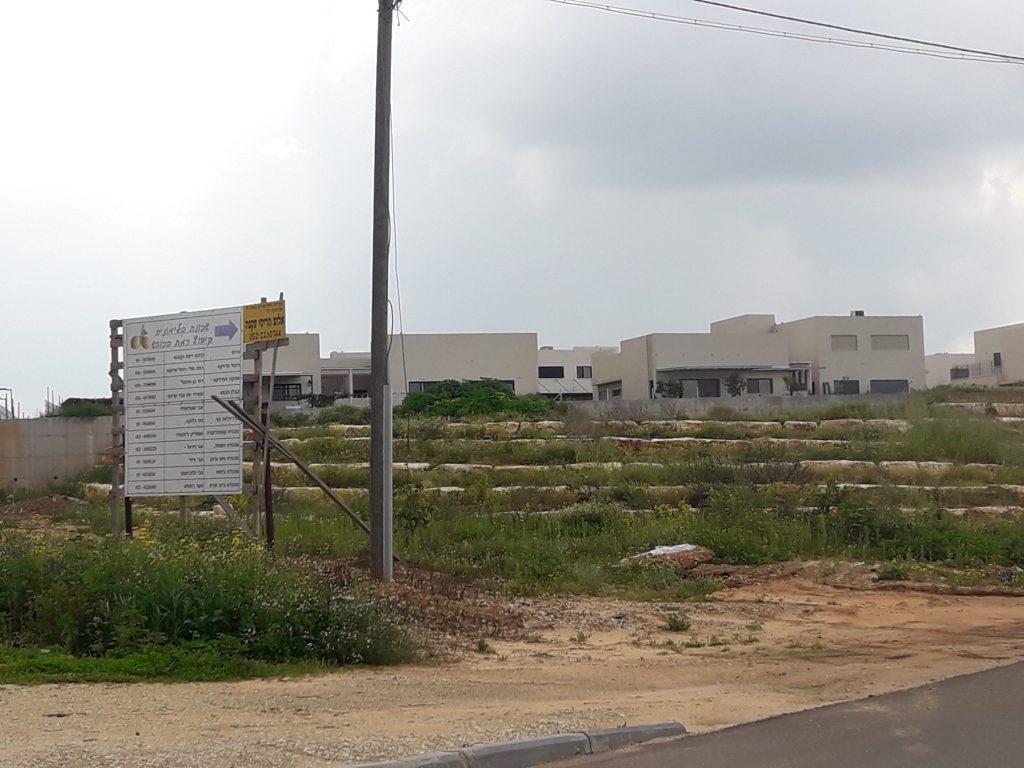 שכונת הלימונים בקיבוץ רמת הכובש (צילום: אורן ביי)