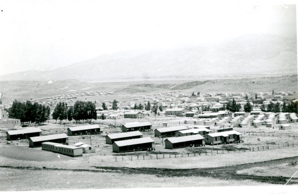העיר בראשיתה (באדיבות מוזיאון העיר קריית שמונה)
