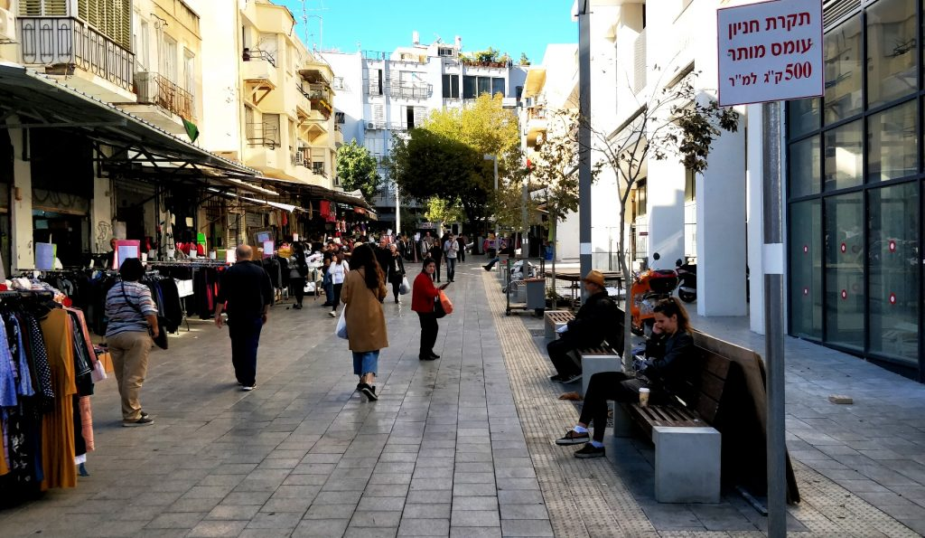 פערים דיגיטליים בעיר תל אביב (צילום: הדס צור)