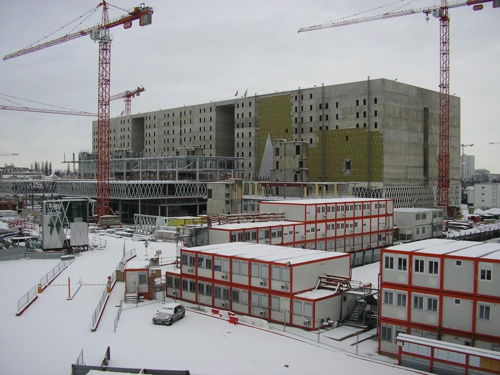 פרוייקט שאפתני: הארכיון הלאומי בבנייה. צילום ערן אלדר