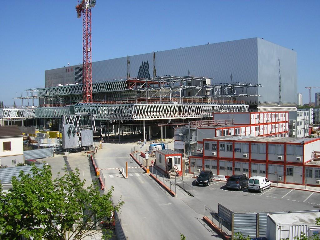 הארכיון הלאומי בסן דני בשלבי בנייה מתקדמים. צילום: ערן אלדר
