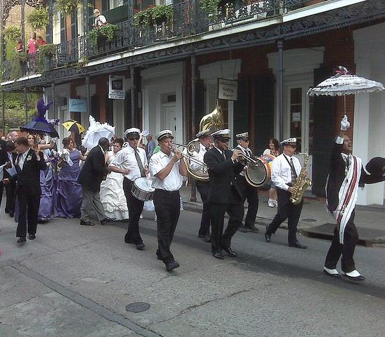 Wedding Parade in New Orleans-Dale Basler, flickr