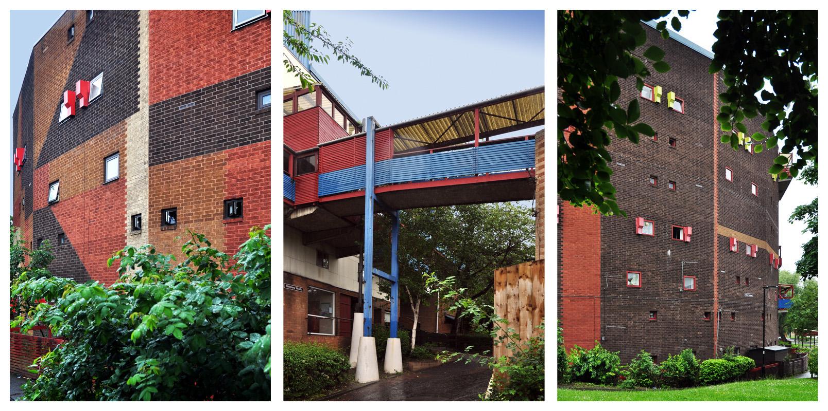 Byker Wall Triptych