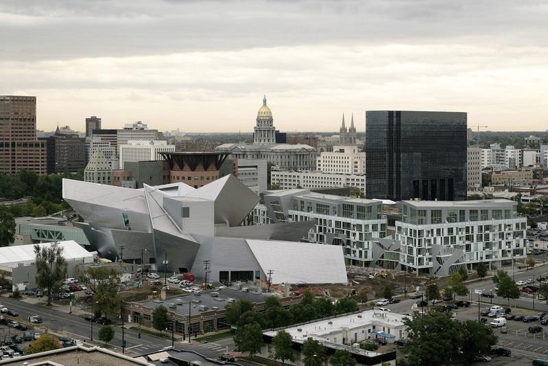 מוזיאון האמנות בדנבר, בתכנון דניאל ליבסקינד (צילום:Studio Daniel Libeskind)