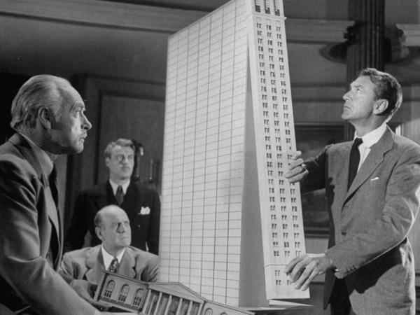 רעיונות ומחשבות על קידום סדר יום חדש במעמד האדריכלים והמתכננים (צילום: מתוך הסרט The Fountainhead)