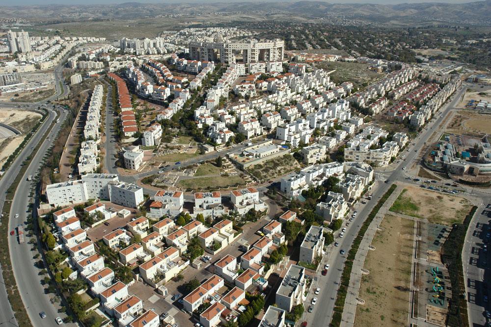 מודיעין העיר. יחסי ציבור או הצצה חשובה לתהליך הקמתה של העיר? (צילום: skyview)
