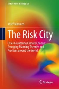 עטיפת הספר The Risk City מאתר יוסף ג'בארין