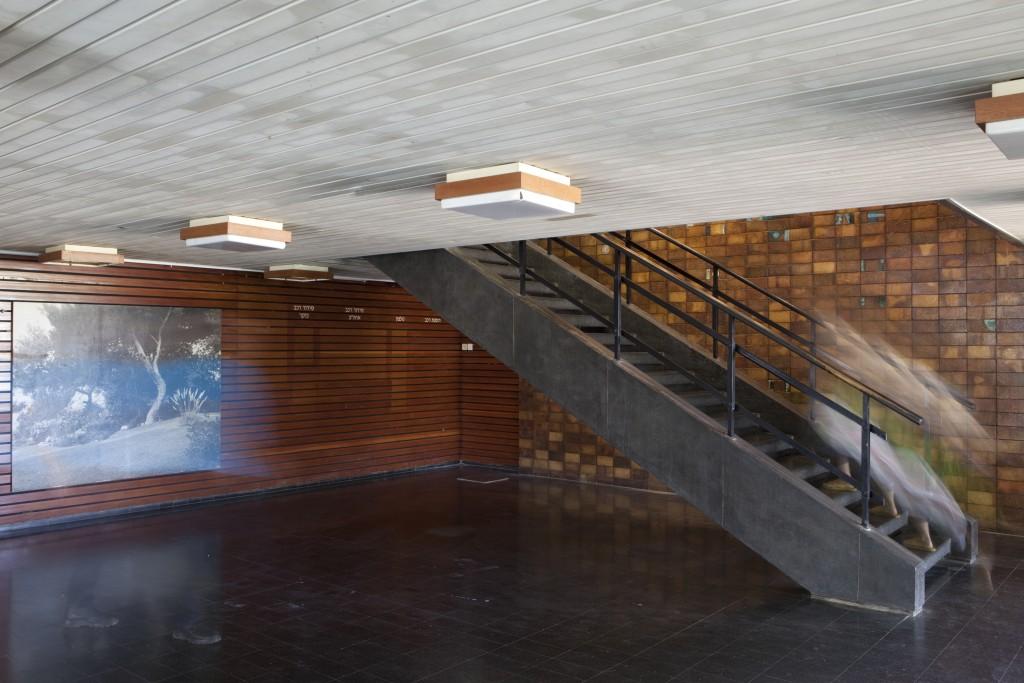 חדר האוכל בקיבוץ מעברות, בתכנון מנחם באר (צילום: עמרי טלמור (C))
