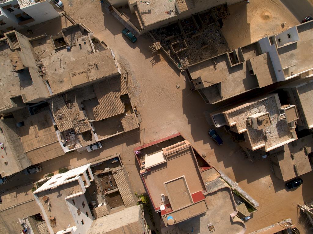 גגות דקר ממעוף הציפור (צילום: Jeff Attaway, אתר flickr)