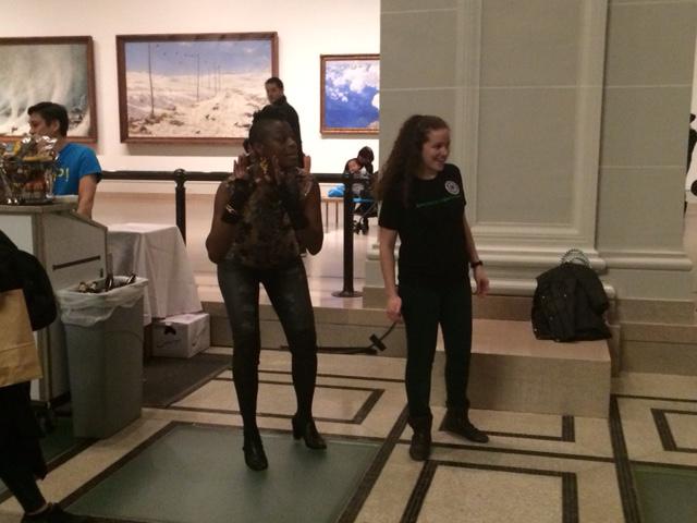 מי שם לב לקולות ההפגנה? מוזיאון ברוקלין (צילום: ארז צפדיה)