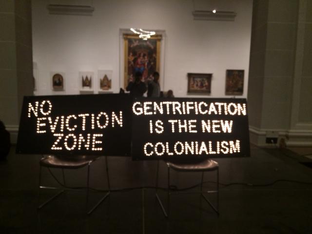 מה מעיב על המחאה האמנותית? מוזיאון ברוקלין (צילום: ארז צפדיה)