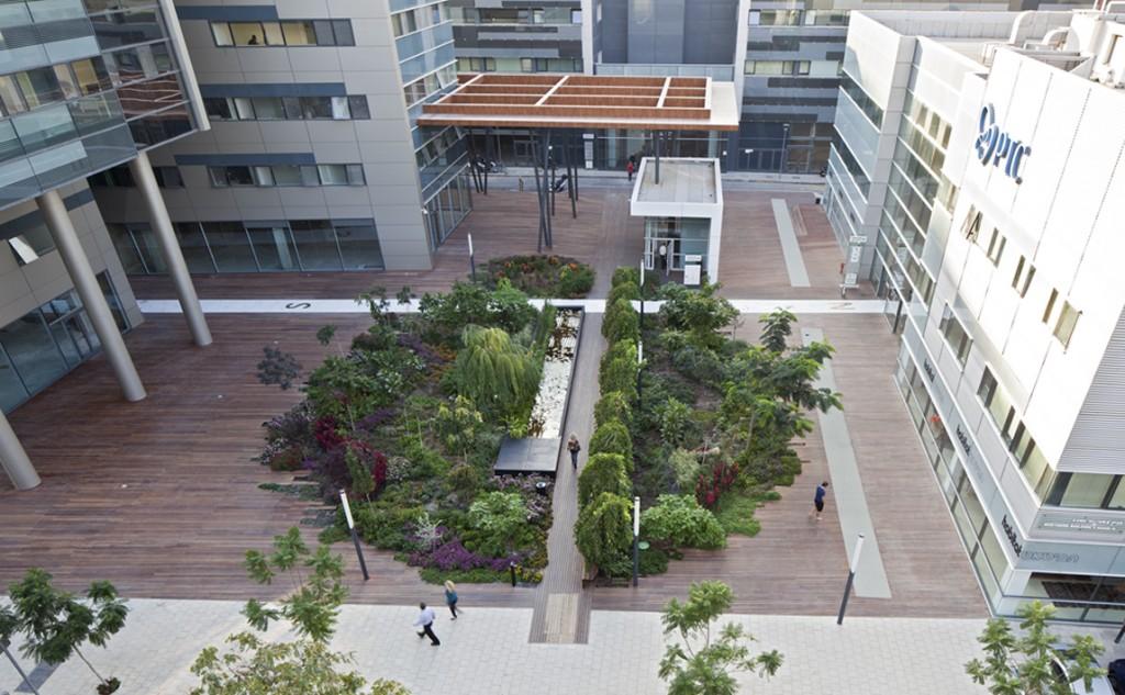 הרצליה ענן ירוק, תמא- תכנון מרחב אורבני