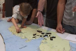 מודל חילופי שטחים צילום: אנקה רימקין ע״י סאיה
