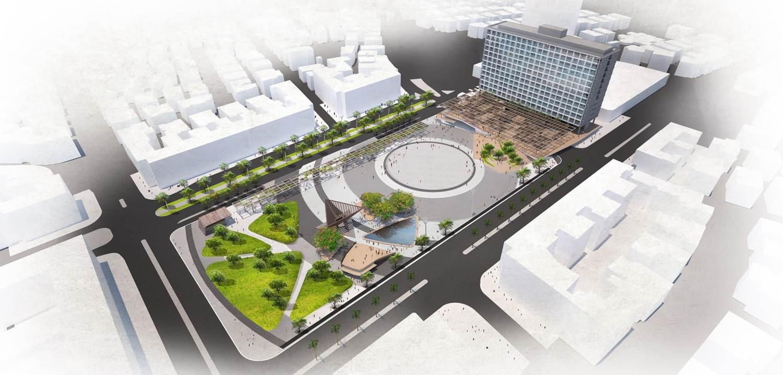ההצעה של מייזליץ-כסיף אדריכלים (הדמיה: באדיבות המשרד)