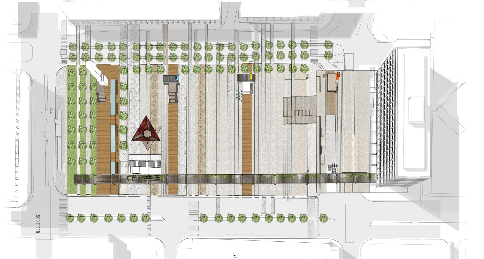 ההצעה של ברוך ברוך אדריכלים (הדמיה: באדיבות המשרד)