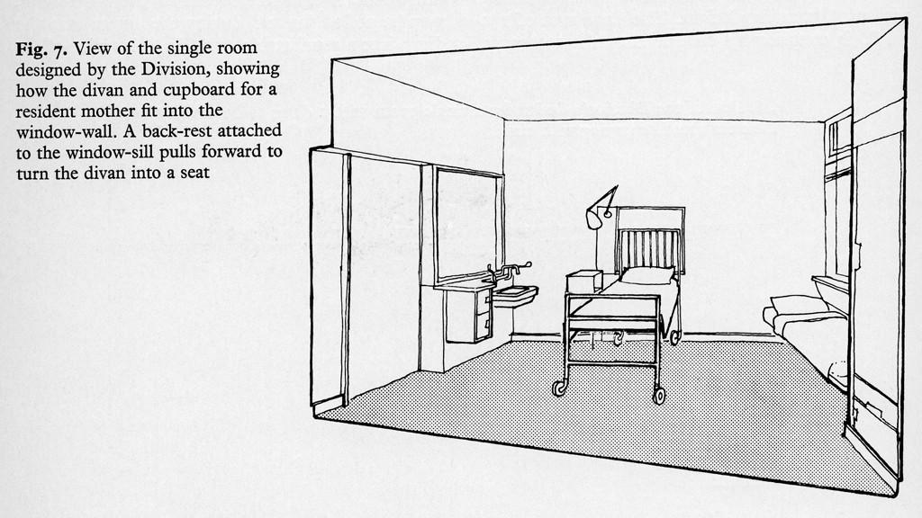 פרספקטיבה של חדר בבית חולים